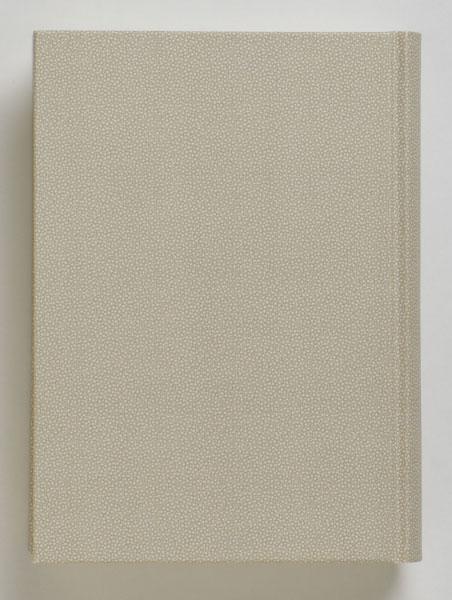 紙クロス(シルビーヌ・すな)装本